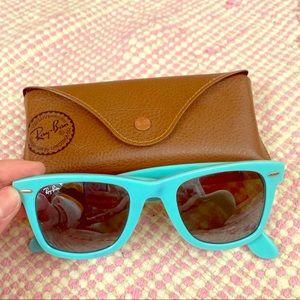 RayBan Wayfarers Turquoise